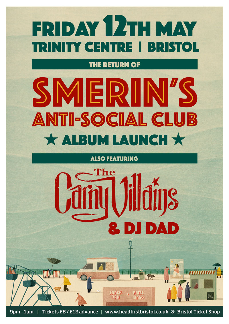 Smerins Anti-Social Club at Trinity Centre 12th May